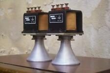 Atelier Rullit field coil tweeters RE-D208 No. 081 + 082
