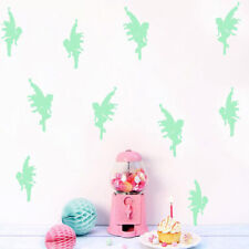 Wall Sticker Fashion Pansy Fairy Fluorescent Kids Room Background Wall Stickers
