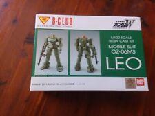 B-Club 1/100 Resin Kit Gundam Wing OZ-06MS Leo