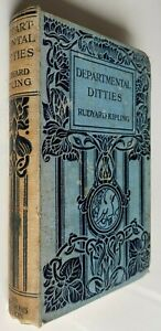 1916 DEPARTMENTAL DITTIES, RUDYARD KIPLING, hardcover, FREE EXPRESS worldwide