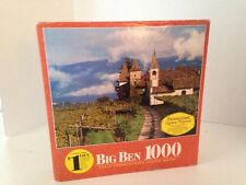 SOUTH TIROL ITALY VINTAGE PUZZLE BIG BEN MB 1000 PC NEW IN BOX @1990 4962-17