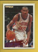 Grant Hill RC 1994-95 Fleer Rookie Card # 280 Detroit Pistons NBA Basketball