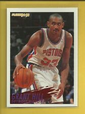 Grant Hill RC 1994-95 Fleer Rookie Card # 280 Detroit Pistons NBA Basketball