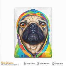 Maree Davidson Pug 4 life Ceramic Fridge Magnets Whiteboard Memo 3D Magnets