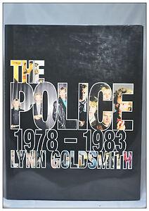 The Police 1978-1983 Lynn Goldsmith Hardcover English photographs Book NEW