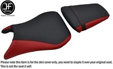 DSG 2 Vinilo Rojo Oscuro Agarre Personalizado Para Yamaha YZF R6 99-02 DELANTERO TRASERO SEAT COVER