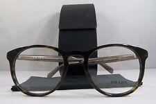 Prada VPR 19S 2AU-1O1 Havana/Brown New Authentic Eyeglasses 50mm w/Box