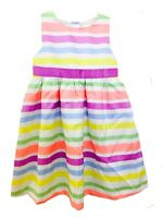 Brand NEW - Gymboree Girls Easter Spring Multi-Color Dress w/ Bow