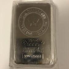 10 oz. RCM Silver Bar - Royal Canadian Mint .9999 Fine Silver #990125551 Sealed!