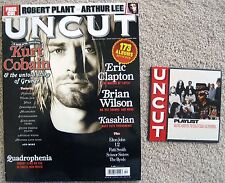 Kurt Cobain Nirvana Grunge October 2006 Uncut Magazine With Bonus Cd Love Free