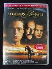 Legends of the Fall R4 DVD Brad Pitt Anthony Hopkins Collector's Edition