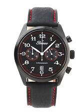 6257 tricolore Orologio Perseo Uomo Cronografo Railking Chrono Watch Uhr Montre