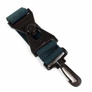 Skyway Luggage Strap Add A Bag or Accessory Strap Green w/ Black Clasp