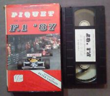 VHS Automobilismo Il Terzo Titolo Di Piquet Nel Campionato Mondiale F.1'87(VH63)