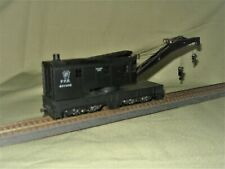 HO Athearn #2701 200 Ton Steam Wreck Crane Pennsylvania PRR  *Built*