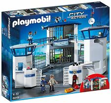 Playmobil Ciry Action 6919- Estación de policía con la cárcel. De 4 a 10 años