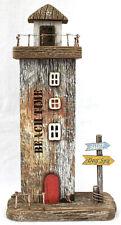 LED - Lichthaus 30 cm Beach TIME Maritime Dekoration Shabby Holz