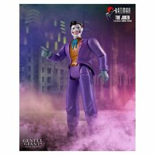 "Dc Batman The Joker Animated Jumbo 12"" Gentle Giant Damaged Pack JC"