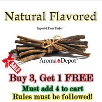 Premium 1/2 lb Organic Licorice Root Stick Natural Dry Turkish Licorice Chew 8oz
