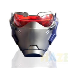 Game Overwatch Soldier 76 Cosplay Mask Luminous Carnival Halloween Party