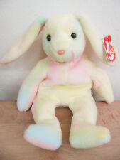 """NEW Ty Beanie Original Baby 1998 Retired """"Hippie"""" Bunny"""