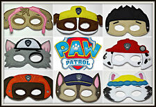 Handmade Kids Mask - Paw Patrol - you choose 3 from the 8 characters! - 3 MASKS