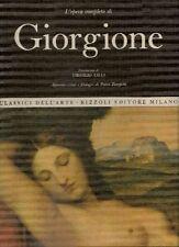 LILLI Virgilio, L'opera completa di Giorgione. Rizzoli, 1968