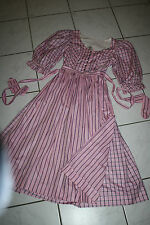 Kl2933 @ bávara @ Trachten vestido @ miederdirndl @ vintage Bavarian dress 34