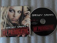 CD-BRITNEY SPEARS-MY PREROGATIVE-X PRESS 2-BOBBY BROWN-(CD SINGLE)-2004 2TRACK