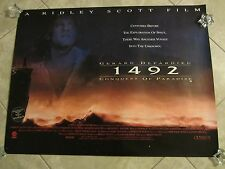 1492 THE CONQUEST OF PARADISE movie poster RIDLEY SCOTT, GERARD DEPARDIEU