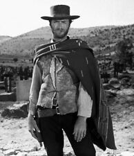 Clint Eastwood The Good Bad Ugly B&W 8 x 10 Photo Picture bw1