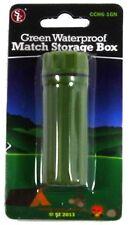 Waterproof Match Storage Box container survival holder wilderness emergency kit