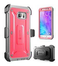 Genuine SUPCASE Galaxy S6/S6 Edge Unicorn Beetle Full Body Rugged Holster Case