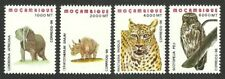 MOZAMBIQUE 1996 BIRDS OWL WILDLIFE TIGER ELEPHANT MNH