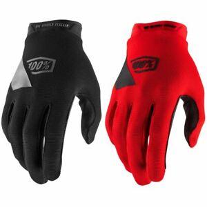 100% Ridecamp Youth Gloves SP21 MTB Mountain Bike Full Finger DH Enduro BMX New