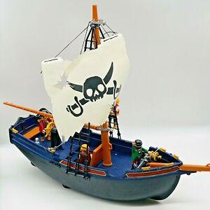 Playmobil Pirate Ship 5810 Corsair sail boat figures imaginative play pretend