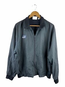 VINTAGE Puma Mens Track Suit Jacket Size XL Full Zip Long Sleeve Windbreaker