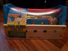 Classic Melissa & Doug Toy Take-along Tool Kit Ages 3+  24 Wooden pieces