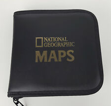 National Geographic Maps 1999 CD-ROM 8-Disc Set with Graphic CD Binder