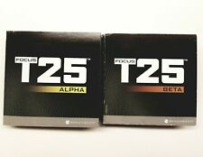BeachBody Focus T25 Alpha Beta Replacement Discs - Pick One DVD - Free Shipping