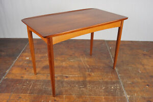 60er Vintage Teak Coffee Table Sofa Table Danish Modern Side Table No. 75 60s