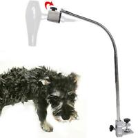 Dog Pet Cat Grooming Table Arm Hair Dryer Hose Clamp Clip Holder Flexible Stand
