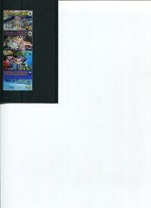 WWF GRENADA CARRIACOU Lobster 4v set MNH POST-FREE