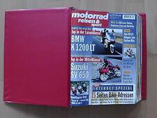 Motorrad Reisen & Sport 02 Feb 1999 bis 02 Feb 2000 in Original Sammelmappe