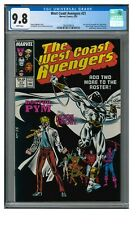 West Coast Avengers #21 (1987) Copper Age Moon Knight Cover CGC 9.8 LK562