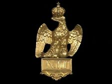 French Second Empire Standard Guidon Gilded Brass Napoleon Iii 19th Century