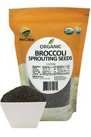 McCabe Organic Broccoli Sprouting Seeds, 1-pound