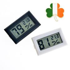 Mini LCD Digital Thermometer Hygrometer Fridge Freezer Temperature Humidity