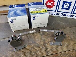 NOS OEM GM Inside Door Handle Chrome 78-87 Buick Olds Chevy GMC Pontiac PAIR L&R