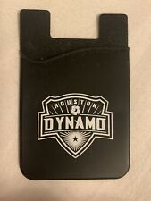 Houston Dynamo Soccer MLS Cell Phone Card Holder Sleeve
